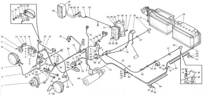 Электрооборудование двигателя и трансмиссии lt b gt мтз lt b gt